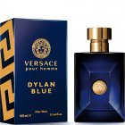 "<strong class=""text-uppercase"">Versace<br>Dylan Blue</strong><br>After Shave Lotion"