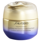 "<strong class=""text-uppercase"">Shiseido<br>Vital Perfection</strong><br>Uplifting & Firming Cream Enriched"