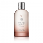 """<strong class=""""text-uppercase"""">Molton Brown<br>Suede Orris</strong><br>Bath Oil"""