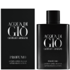 """<strong class=""""text-uppercase"""">Giorgio Armani<br>Acqua di Gio Homme</strong><br>Profumo After Shave lotion"""