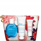 """<strong class=""""text-uppercase"""">Clarins<br>Eau Ressourçante</strong><br>Eau Ressourçante Set"""