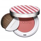 """<strong class=""""text-uppercase"""">Clarins<br>Teint</strong><br>Joli Blush Cheeky Pinky"""