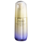 "<strong class=""text-uppercase"">Shiseido<br>Vital Perfection</strong><br>Uplifting & Firming Day Emulsion SPF30"