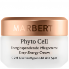 """<strong class=""""text-uppercase"""">Marbert<br>Phyto Cell</strong><br>Die Pflegecreme mit Phyto-Age™ System für die reife Haut."""
