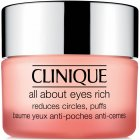 "<strong class=""text-uppercase"">Clinique<br>Augen- und Lippenpflege</strong><br>All About Eyes Rich"