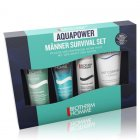"""<strong class=""""text-uppercase"""">Biotherm Homme<br>Basispflege</strong><br>Homme Aquapower Starterkit Survivor Set"""