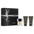 "<strong class=""text-uppercase"">Yves Saint Laurent<br>Yves Saint Laurent</strong><br>EDT / Showergel / After Shave Balm SG"