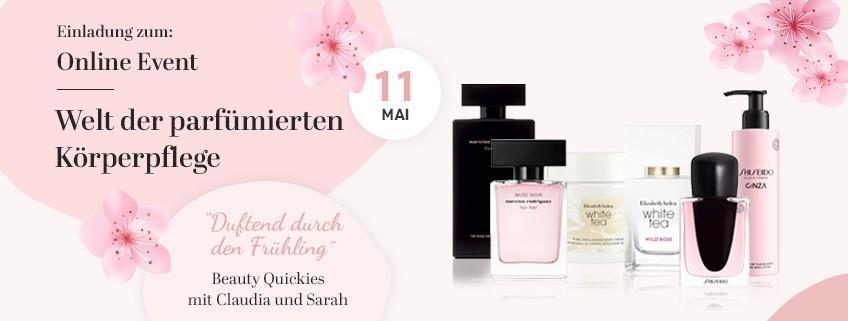 Welt der parfümierten Körperpflege